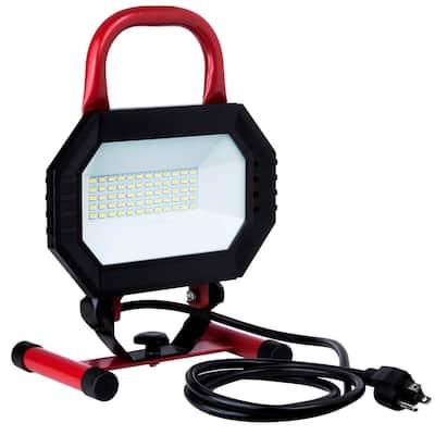 Portable Work Lights Commercial, Outdoor Work Lights Home Depot