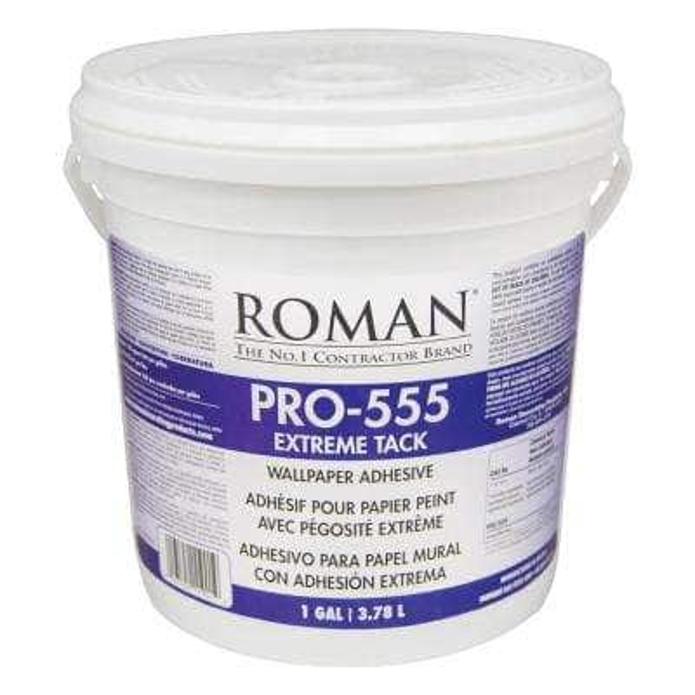 PRO-555 1 Gal. Extreme Tack Wallpaper Adhesive