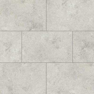 Alabaster 12 in. W x 23.82 in. L Luxury Vinyl Plank Flooring (19.8 sq. ft.)