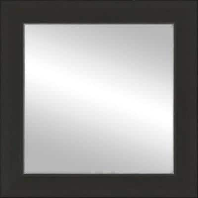 12x12 Port Espresso/Silver Framed Mirror