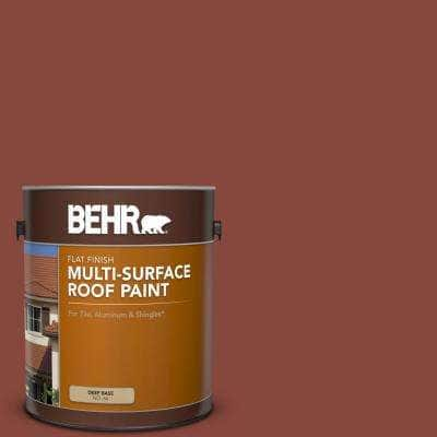 1 gal. #RP-26 Spanish Tile Flat Multi-Surface Exterior Roof Paint