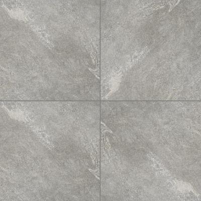 Take Home Tile Sample - Quarzo Gray 6 in. x 6 in. Porcelain Paver Tile (0.25 sq. ft.)