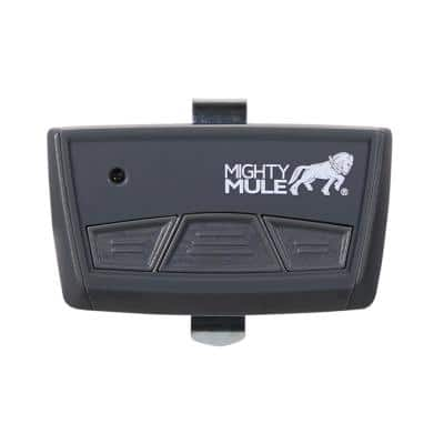 3-Button Remote for Garage Door Openers and Gate Openers