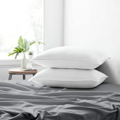 Becky Cameron Plush Down Alternative Gel-Fiber Queen Pillows (2-Pack)