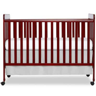 Carson Classic Cherry 3-in-1 convertible Crib