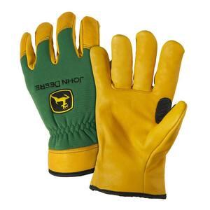 Grain Deerskin Large Driver Gloves