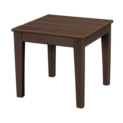 Newport 18 in. Square Plastic Outdoor Side Table