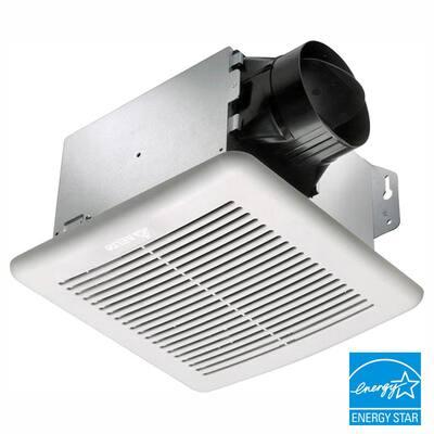GreenBuilder 100 CFM Wall or Ceiling Bathroom Exhaust Fan, ENERGY STAR (3-Pack)