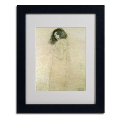 11 in. x 14 in. Portrait of a Young Woman, 1896-97 Matted Framed Art