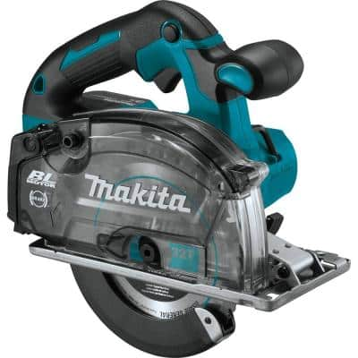 18-Volt LXT Lithium-Ion Brushless Cordless 5-7/8 in. Metal Cutting Saw with Electric Brake and Chip Collector Tool-Only