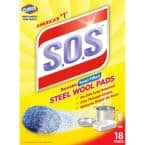 Steel Wool Soap Scouring Pads (18-Pack)