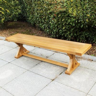 Baytown Wood Outdoor Picnic Bench
