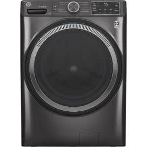4.8 cu. ft. 28 in. Diamond Gray Front Load Washing Machine with OdorBlock UltraFresh Vent System and Sanitize with Oxi