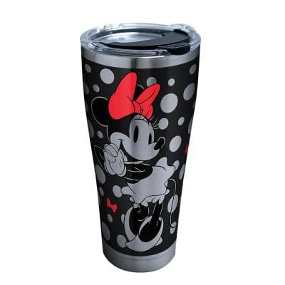 Disney Silver Minnie 30 oz. Stainless Steel Tumbler with Lid