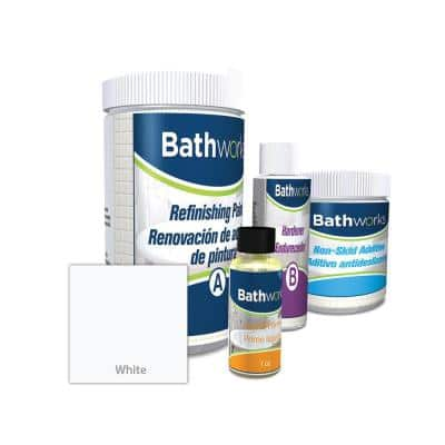 22 oz. DIY Bathtub Refinish Kit with SlipGuard in White
