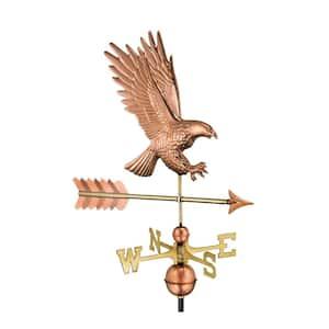 American Bald Eagle Weathervane - Pure Copper