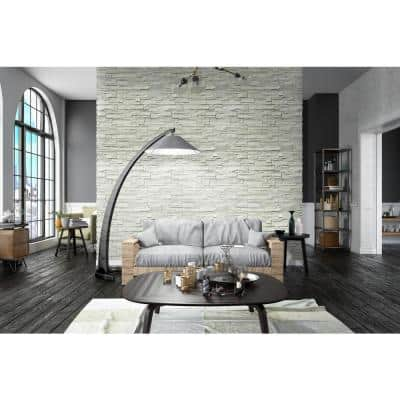 Terrado Veneto Snow Manufactured Stacked Stone Corner (4 sq. ft. /  case)