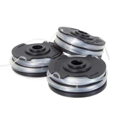 String Trimmer Replacement Spool with 30 ft. of 0.065 Line (3-Pack)