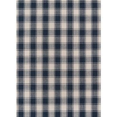 Charles Navy 3 ft. 6 in. x 5 ft. 6 in. Accent Rug