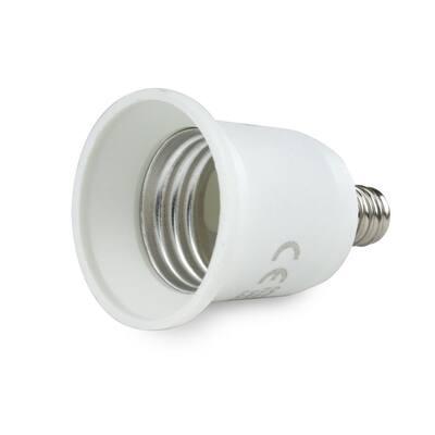 E17 to Medium Base (E17 to E26) Light Bulb Adapter