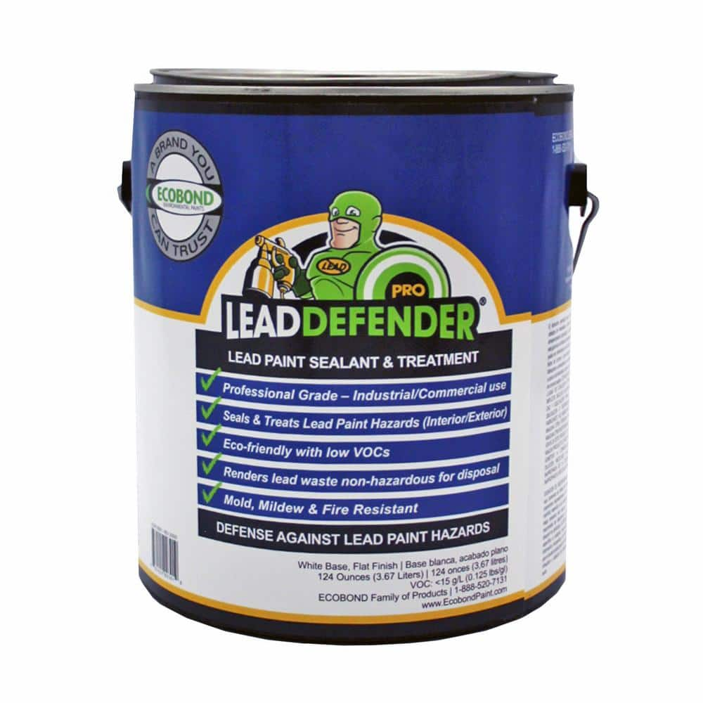 ECOBOND LBP Lead Defender PRO 1-Gal Off White Flat Lead Based Paint Treatment and Sealant