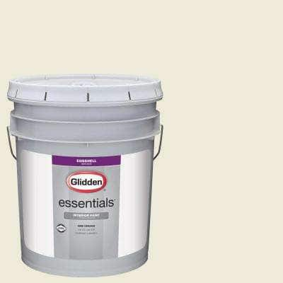 5 gal. #HDGY56U Morning Daylight Eggshell Interior Paint