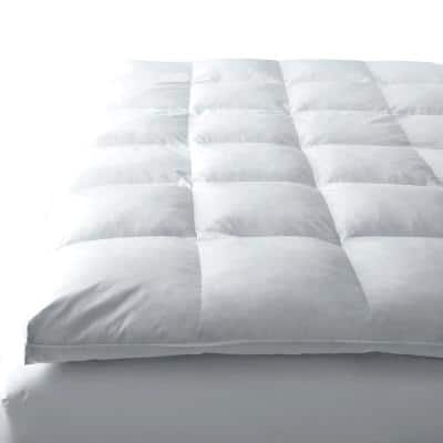 A1HC 100% Organic Cotton Stretchable and Waterproof Membrane Treated Twin Mattress Pad and Protector