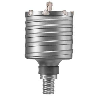 5 in. Carbide SDS-Max Rotary Hammer Core Bit for Masonry and Concrete Drilling
