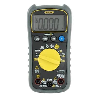 ToolSmart Bluetooth Connected Digital Multimeter