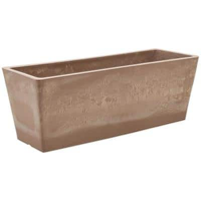 17.5 in. x 6.3 in. Taupe Composite PSW Window Box