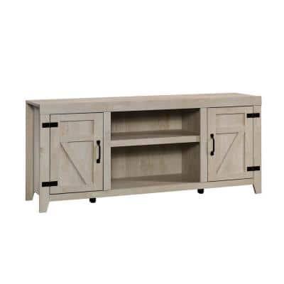 Select 62.677 in. Chalked Chestnut Entertainment Center with 2-Doors Fits TV's up to 70 in.