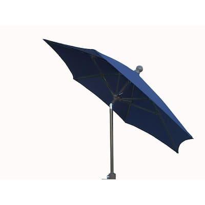 9 ft. Patio Umbrella in Navy Blue