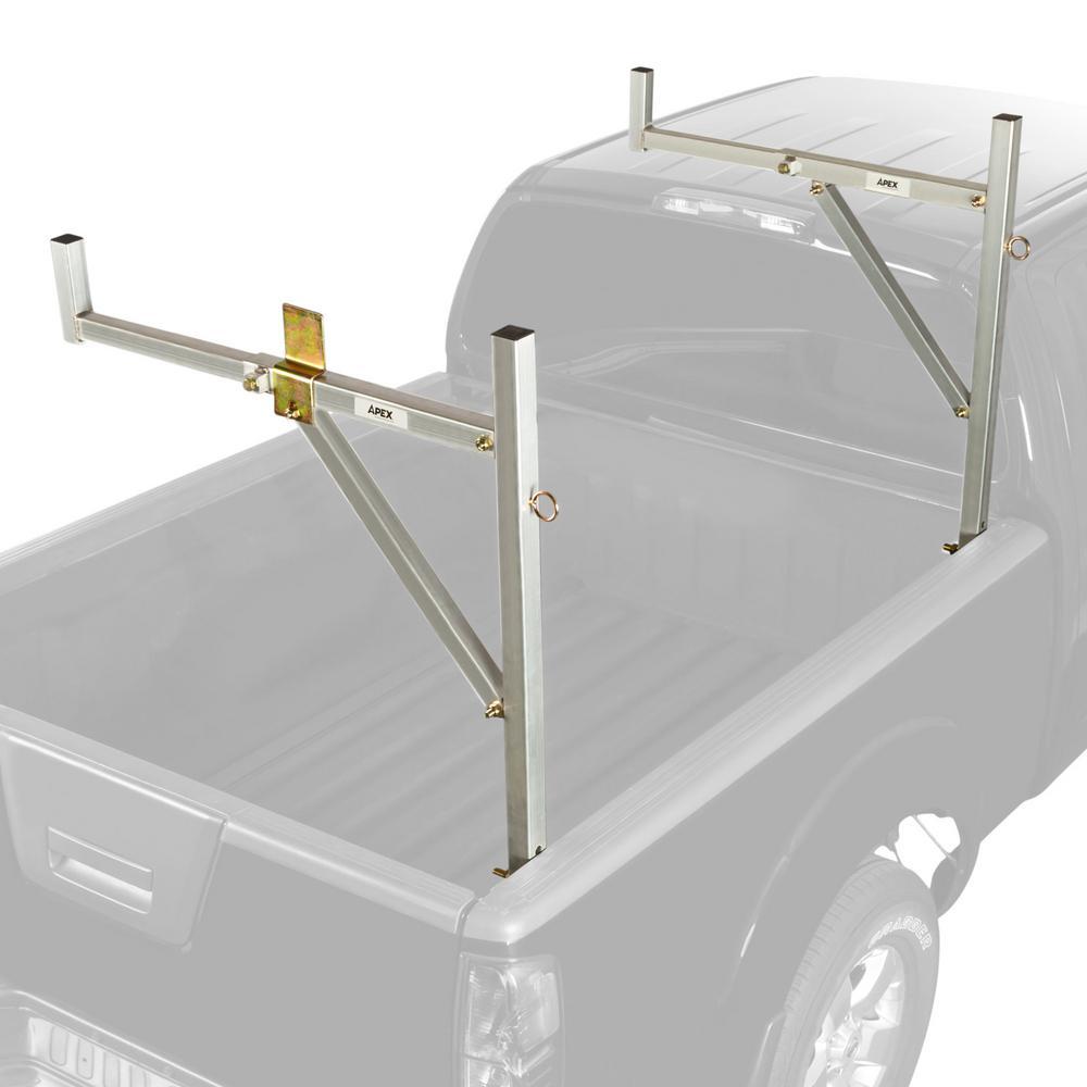 250 lbs. Universal Aluminum No-Drill Ladder Rack