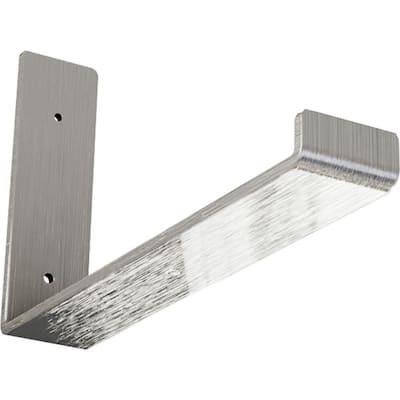 2 in. x 7 in. x 12 in. Unfinished Steel Hanging Shelf Bracket