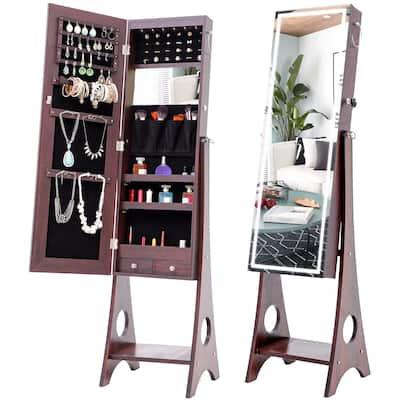 Jewelry Armoires Bedroom Furniture, Free Standing Jewellery Mirror Nz