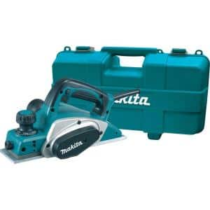 6.5 Amp 3-1/4 in. Corded Planer Kit with Blade Set, Hard Case