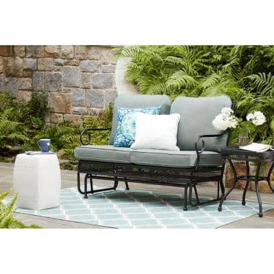 Amelia Springs Outdoor Glider with Spa Cushions