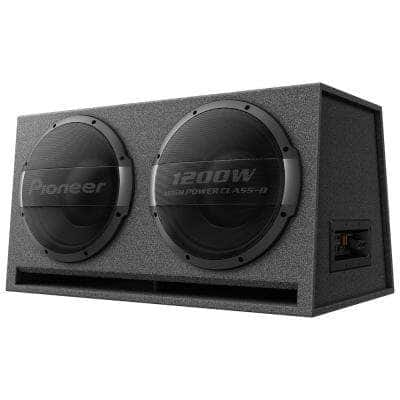 Dual 12 in. Ported Enclosure Powered Subwoofer
