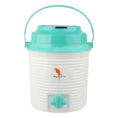 A Sip of Summer Bluetooth 1.3 Gal. Wireless Plastic Bucket Cooler Speaker