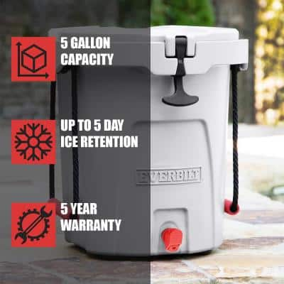 5 Gal. 3-in-1 Water Dispenser, Party Tub, Cooler