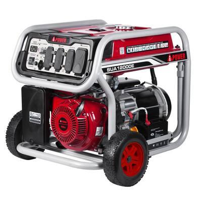 9000-Watt Gasoline Powered Start Portable Generator