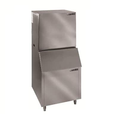 1000 lb. Freestanding Ice Maker in Stainless Steel