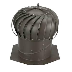 14 in. Weatherwood Aluminum Externally Braced Wind Turbine