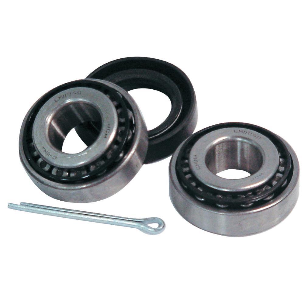 1-1/4 in. x 3/4 in. Axle Trailer Wheel Bearing Kit