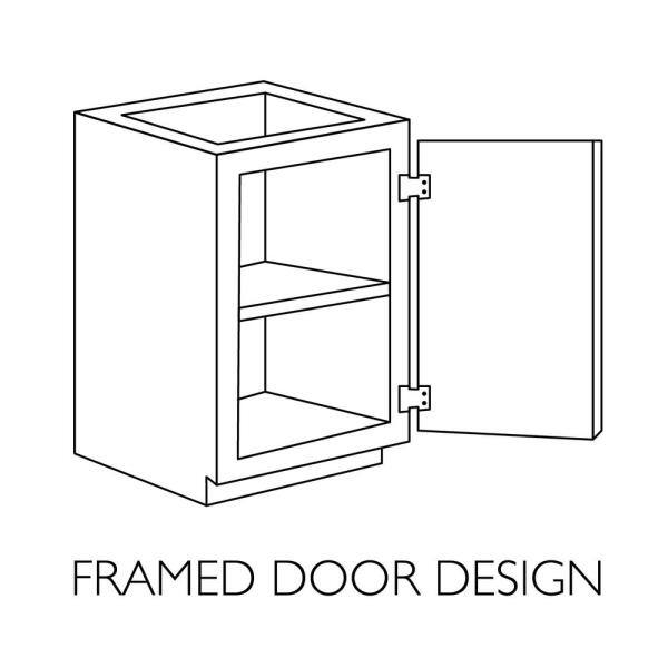 Design House Brookings Plywood Ready To Assemble Shaker 18x84x24 In 2 Door Pantry Utility Kitchen Cabinet In White 561787 The Home Depot
