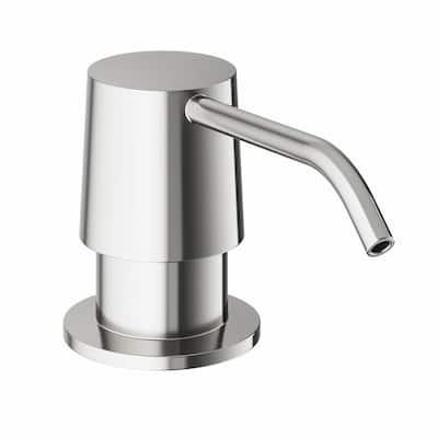 10 oz. Kitchen Soap Dispenser in Stainless Steel