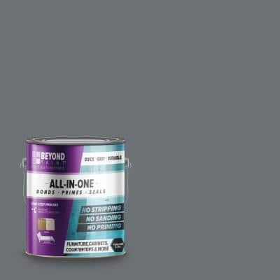 1 gal. Pewter Furniture, Cabinets, Countertops and More Multi-Surface All-in-One Interior/Exterior Refinishing Paint