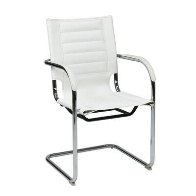 White Trinidad Guest Chair