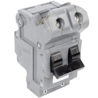 New UBIF Thick 125 Amp 2 in. 2-Pole Federal Pacific Bolt-On Type NB Replacement Circuit Breaker