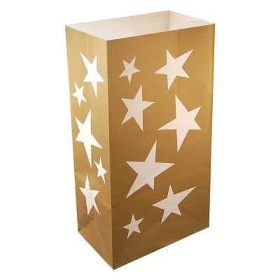 Stars Luminaria Bags (100-Count)
